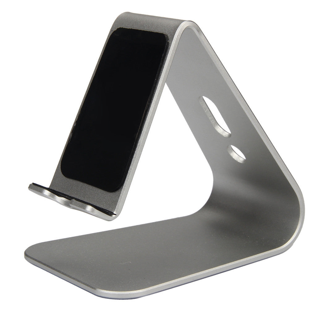 2016 HOT SALE Fashion Noble Aluminum Desktop Holder Table Stand Cradle Mount For Cell Phone Tablet YYH* Free Shipping