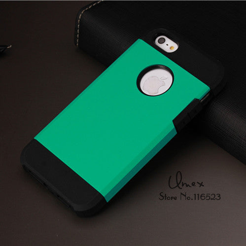 "2016 Hot Armor Case For Apple iPhone 5 5s se 6 6s 4.7"" 6 Plus 5.5"" inch Mobile Phone Bag Back Cover Cases"
