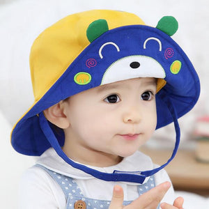 2016 New Arrival Baby Sun Hat Cap Child Photography Prop Spring Summer  Outdoor Wide Brim Kids a72f17de0cfa