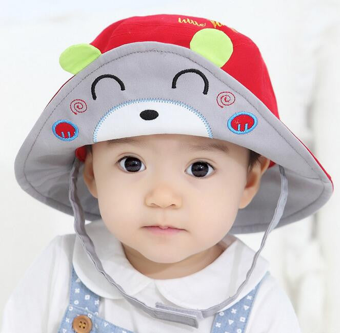 2a15bfaa ... 2016 New Arrival Baby Sun Hat Cap Child Photography Prop Spring Summer  Outdoor Wide Brim Kids
