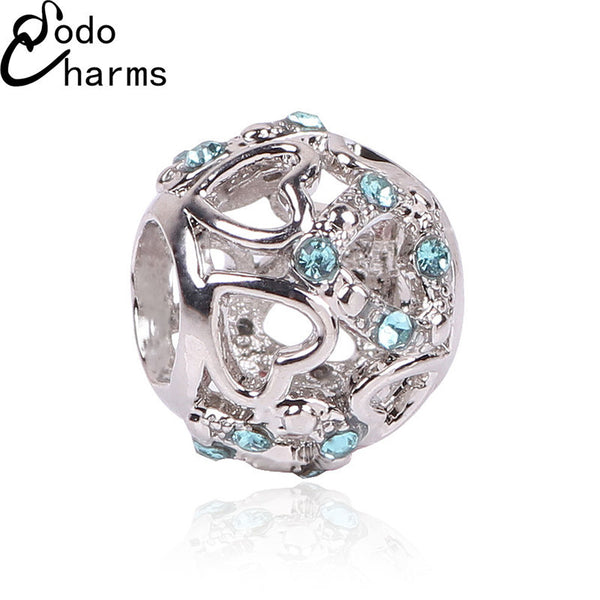 2016 New Fashion Perles Jewelry Silver Plated Cute Mickey Minnie Bijoux Beads Fit Diy Pandora Charms Bracelet Wholesale gift