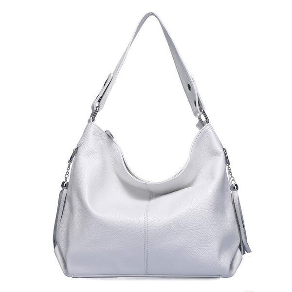 Zency Diamonds Solid Genuine Leather Handbags Women Zc0305