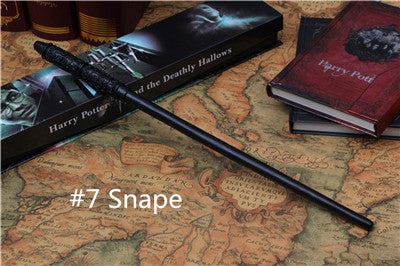 2016 New Top Quality Harry Potter Magic Wand With Gift Box Cosplay Game Prop Collection Series Toy Stick 19 Styles Free Choice