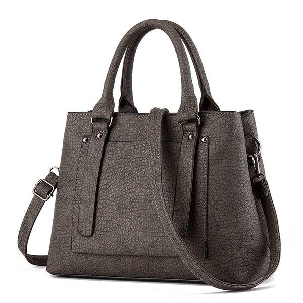 Loslandifen Solid Pu Handbags Women Kly8875bag
