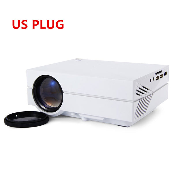 2016 Professional Pocket GM60 LCD Projector 1000Lm 800 x 480 Pixels 1080P HD Projection For Home Theater Cinema