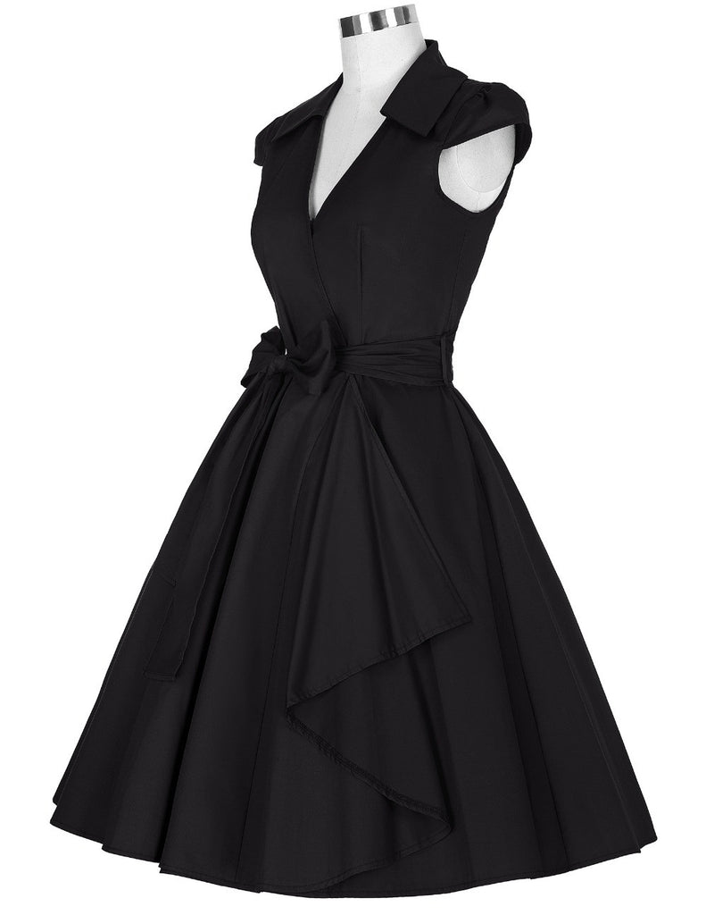 456330901f ... 2016 Audrey Hepburn Summer Style Women Vintage Swing robe Rockabilly Retro  50s pinup Dress housewife clothing ...