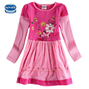 2016 autumn Girls baby dress baby girls dress kids wear children's infant dress fashion baby girl party dresses nova kids wear
