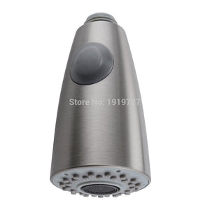 2016 Brushed Nickel Sink Kitchen Pull Down Faucet Dual Spray Spout Shower Head RKSH105