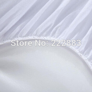 2016 Cheapest Size 90X190cm Smooth Waterproof Mattress Protector For Box Spring Mattress Cover BedBug Proof and Hypoallergenic