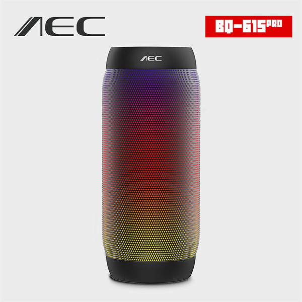 2016 HOT AEC colorful Waterproof Bluetooth Speaker Wireless NFC Super Bass Subwoofer Outdoor Sport Sound Box FM Portable Speaker
