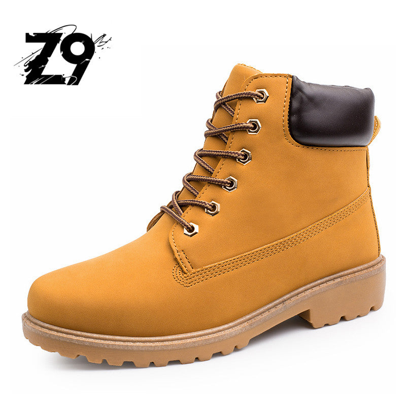 4b11fd21 2016 men boots outdoors camel color winter keep warm with or without plush  lining nubuck upper ...