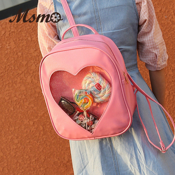 Artmomo Candy Pu Backpacks Women M3131