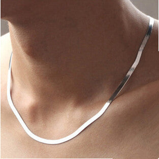 2016 New Arrival high quality classic design men`s necklaces 925 sterling silver men necklace jewelry promotion