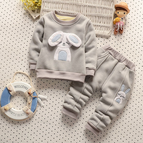 2016 New Baby Girls Clothes Winter Children Girls Clothing Child Girl Clothing Set Kids Clothes Girls Sets