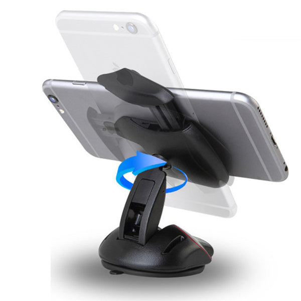 2016 New Car Windshield Phone Holder Mount Mouse Suction Cup Cradle Stand For iphone 6s Samsung S6 Edge GPS Car Phone holder