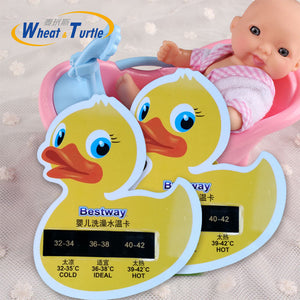 2016 New Cartoon LCD The Water Temperature Meter Baby Take A Shower Thermometer Bath Thermometer Baby Bath Thermometer