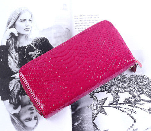 Miwind Solid Pu Wallet Women 04-2
