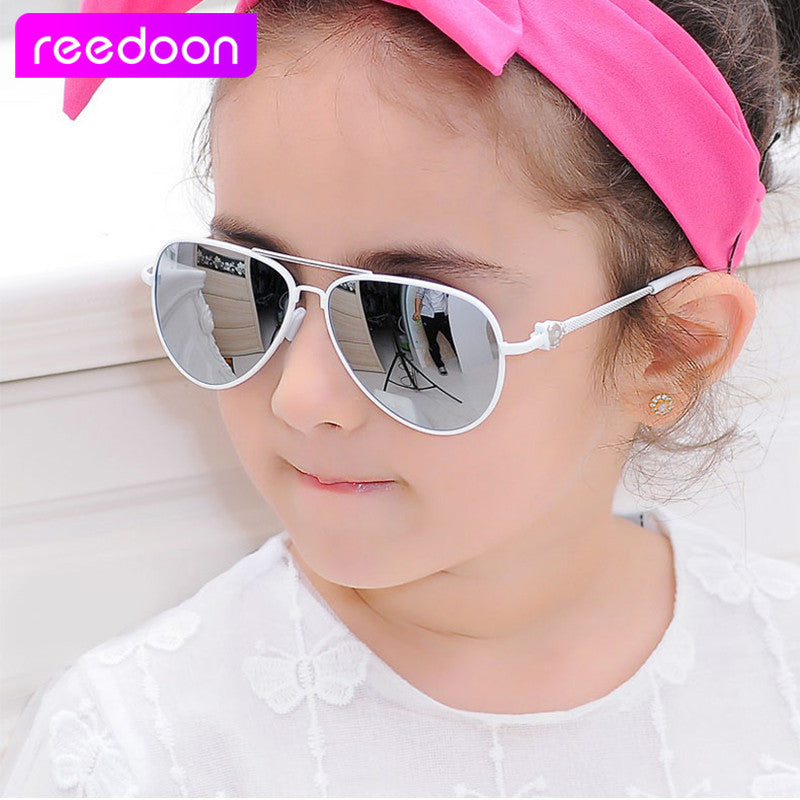 24504ca9909 2016 New Fashion Children Sunglasses Boys Girls Kids Baby Child Sun Glasses  Goggles UV400 mirror glasses ...