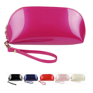 Antbook Solid Patent Leather Wallet Women 1211