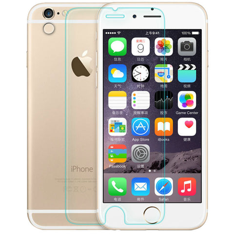 2016 new For iPhone 5s glass 0.26 mm for iphone 6s tempered glass protection film for iphone 4S 6S plus glass screen protector