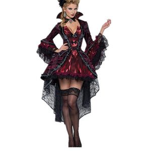 2016 New Halloween Costumes For Women Vampires Vixen Costume LC8922 Deguisement Adulte Sexy Fantasias Femininas Halloween Menina