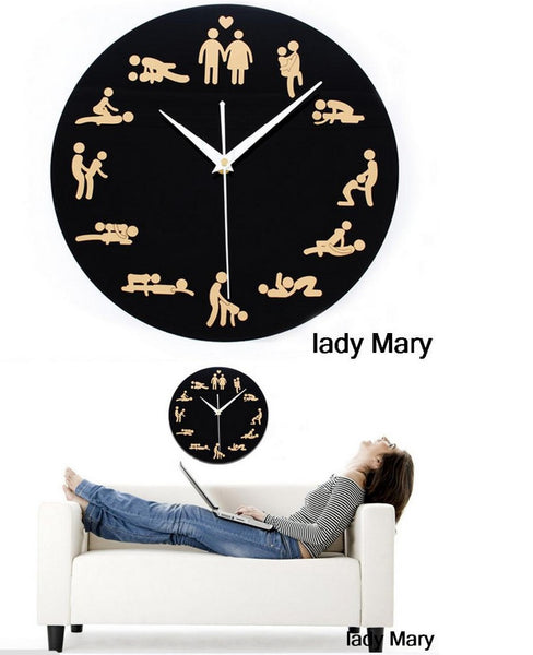 2016 New Hot Sale Quartz Wall Clock 3d Clocks Horloge Watch Living Room Separates Circular Needle Modern Acrylic Free Shipping