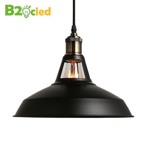 2016 new Industrial retro style Art Pendant light black white Edison light bulb American village lamps Hanging Lamps luminaries