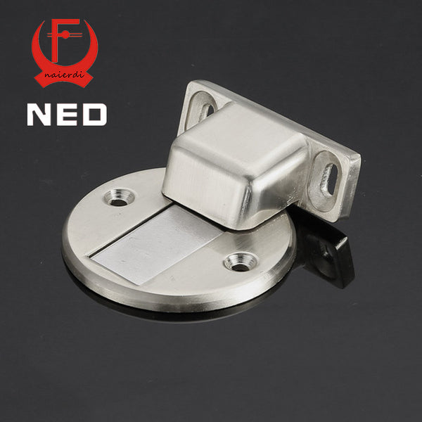 2016 Newest NED DFL Deluxe Zinc Alloy Casting Floor-mounted Magnetic Door Stopper Door Stops Floor Suction For Home Etc