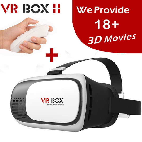 2016 VR BOX II 2.0 VR Virtual Reality 3D Glasses Helmet Google Cardboard Headset Version for 4.0 - 6.0 inch Smart Phone iPhone