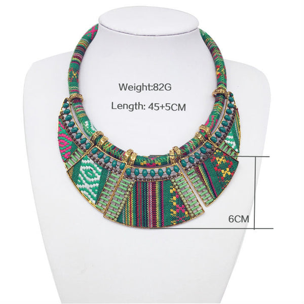 2016 women fashion choker necklace bohemian boho collar tribal ethnic koyle bijoux mujer big necklace & pendants jewelry hot