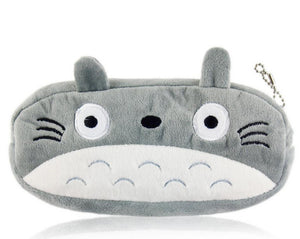 2017 Kawaii 20CM TOTORO School Kids Pen Pencil BAG Case GIFT Lady Girl's Cosmetics Purse & Wallet Coin Holder Pouch BAG H0014