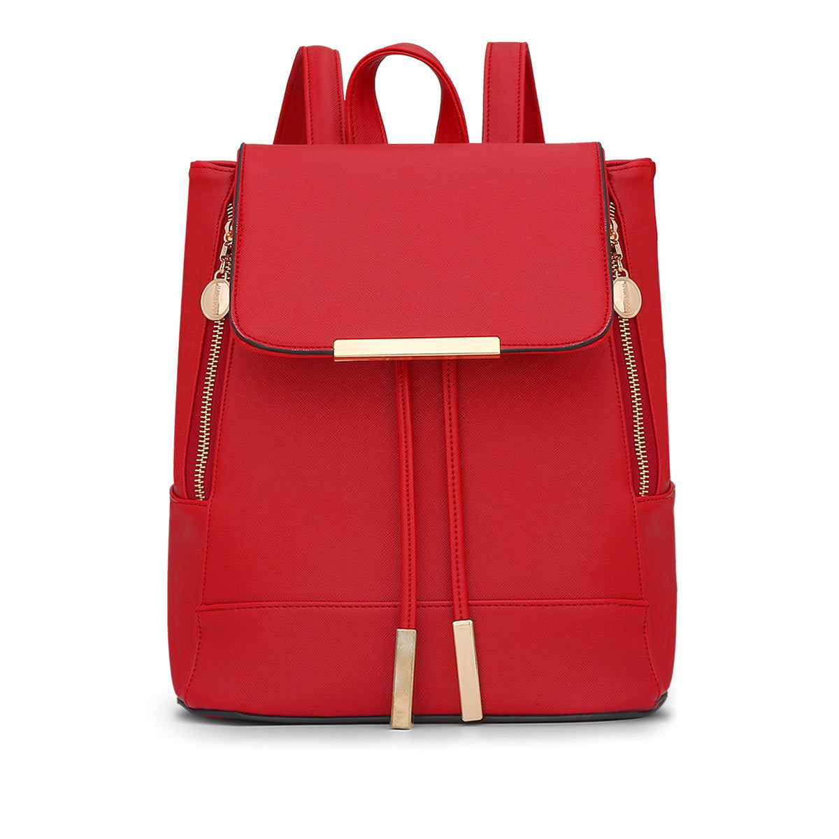 Zooron Belts Solid Pu Backpacks Women