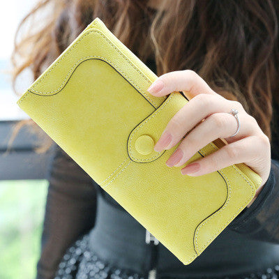 Qxmingjia Solid Pu Wallet Women W0011