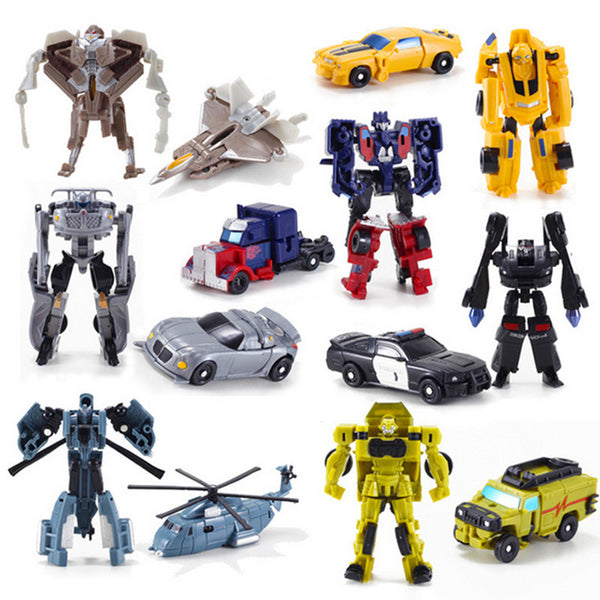 2017 New Transformation Classic Robot Cars Action Figure Toys For Children