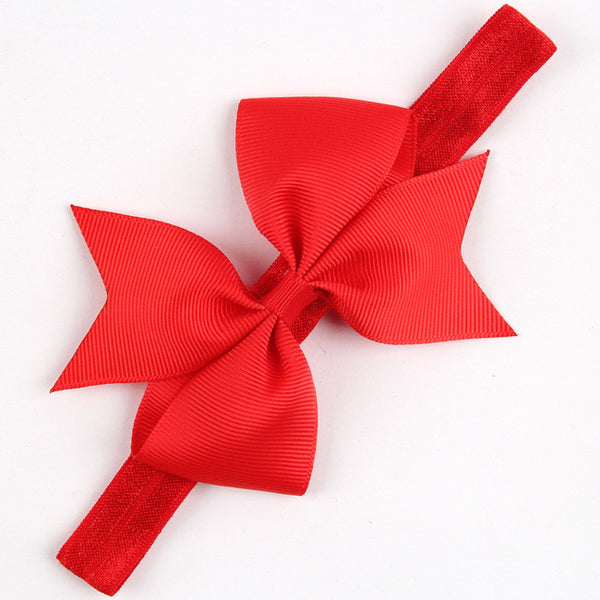 20Colors Big Sale children Infant Baby Toddler girls ribbon bowknot Headband Headwear Hair Band Head Piece Accessories