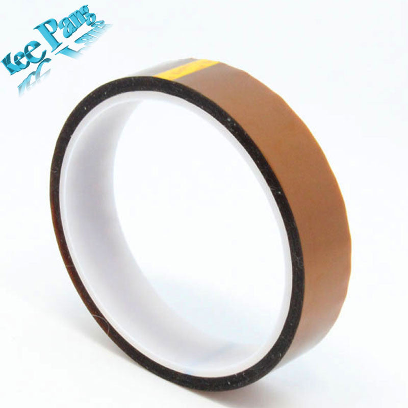 20mm x 33m High Temperature Resistant tape Heat dedicated Tape Heat Tape for 3D Printer Rapid Printer Maker Reprap Tape