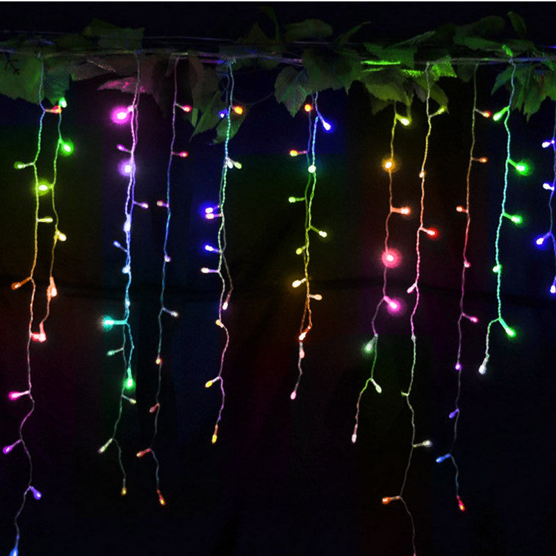 220V Led String Christmas Lights Outdoor 96 leds Night light for Holiday Party Decoration luminarias home garland Free Shipping