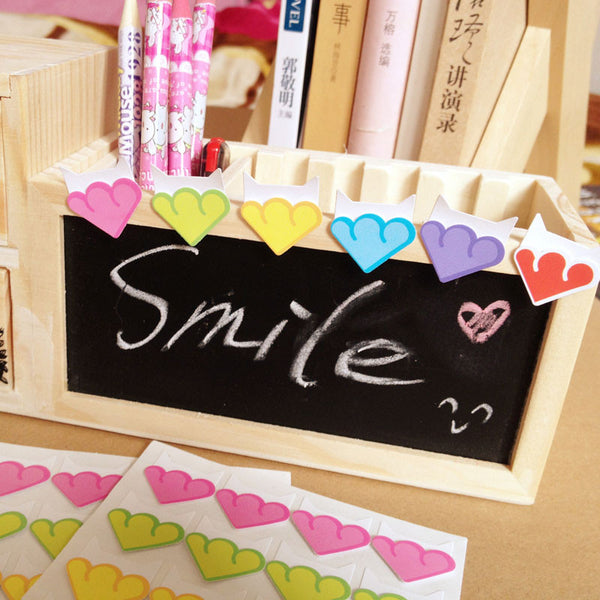 24 pcs lot DIY Colorful Cloud Corner Paper Stickers for Photo Albums fitting Handwork Frame exquisite Decoration Scrapbooking