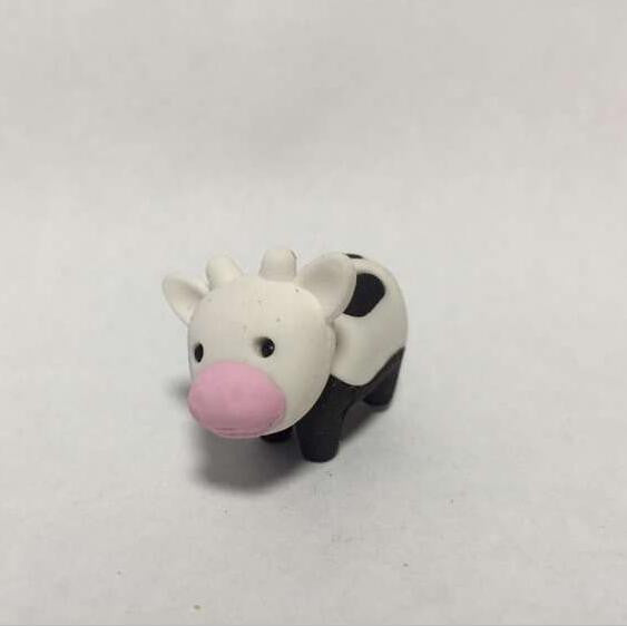 28 Design Cute Kawaii Cartoon Animal panda pig lion Rubber Eraser Lovely Korean Stationery For kids Students Creative item Gift
