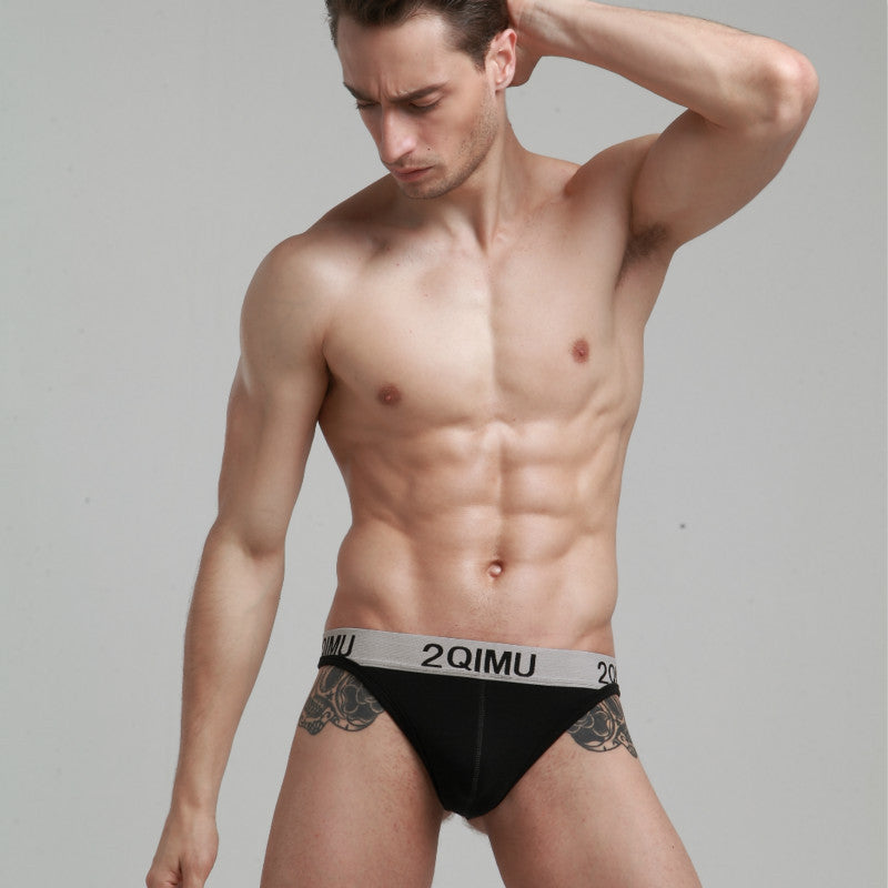 d5102df793e2 2QIMU Brand New Mens Cotton Thongs G strings Low Waist Underwear Sexy T-back  Thongs For Men Hollow Gay Underwear