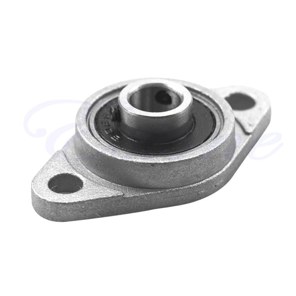 2Pcs 8mm Bore Diameter KFL08 Pillow Block Bearing Flange Rhombic Bearings New