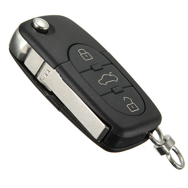 3 Button Remote Key Fob Case Shell Blade HAA for Audi A2 A3 A4 A6 A8 TT 1994-2006