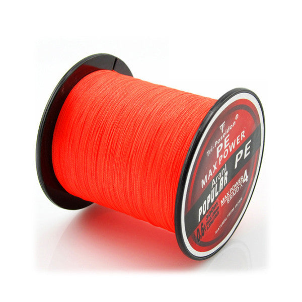 300M line: Super Strong Multifilament Braided Fishing line 4 strands weaves Janpan PE material Fishing Wire 10lb 20lb 30lb 60lb