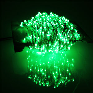 30m 300 Led Outdoor Christmas Fairy Lights Warm White Copper