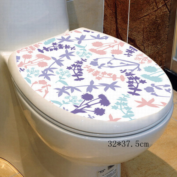 34* 46cm sticker wc toilet cover toilet pedestal toilets stool toilets commode sticker wc home decoration bathroom accessoress