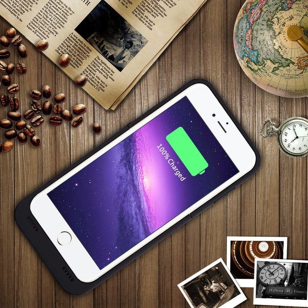 3500mAh Backup External Battery Case Charger Case Portable Power Bank Charging Case Pack for iphone 6 6s 4.7 inch Rechargerable