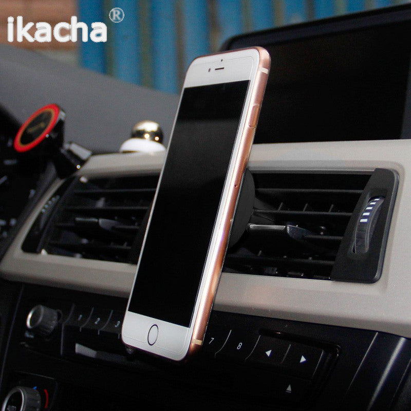 48897768c8344f 360 Degree Universal Car Holder Magnetic Air Vent Mount Dock mobile phone  holder For iPhone 6s ...