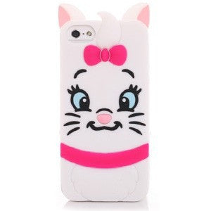 3D Cartoon Animal Monsters Sulley Tigger Marie Alice Cat slinky dog Silicon Phone Cases Cover For iPhone 7 4S 5 5S SE 6 6s Plus
