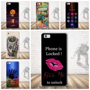 3D Painted Mobile Phone Case for Huawei P8 Lite Silicon Protective Case Cover For Huawei Ascend P8 Lite 5.0 inch Soft TPU Funda
