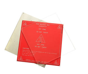 3D Printer MK2 Heated Bed Borosilicate Glass Plate size 213*200*3mm tempered 1pcs Glass plate only